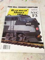 RAILROAD MODEL TRAIN MAGAZINE January 1995