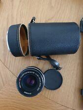 CARL ZEISS JENA DDR Electric MC FLEKTOGON 2,4/35 Mount Camera Lens - With Case