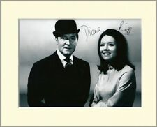 DIANA RIGG THE AVENGERS EMMA PEEL PP MOUNTED 8X10 SIGNED AUTOGRAPH PHOTO PRINT