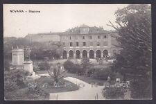 NOVARA CITTÀ 154 STAZIONE Cartolina viaggiata 1909