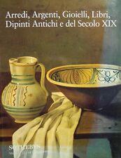 SOTHEBY'S ARREDI ARGENTI GIOIELLI LIBRI DIPINTI ANTICHI E DEL SECOLO XIX