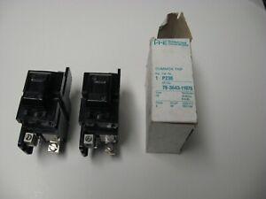 Pushmatic P230 circuit breaker, 30 amps, 2 poles, Box Lugs 120/240 VAC, used (C)