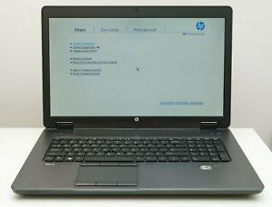 "HP ZBook 17 G2 17.3"" i7 4940MX/Quadro K5100M/24GB/NO HDD/NO BATTERY Workstation"