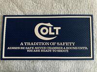 Colt Firearms Factory Counter  Mat