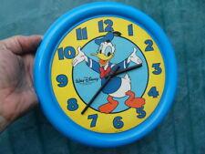 ancienne pendule horloge wall clock duck DONALD Disney