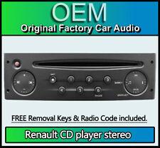 Renault Laguna CD player, Renault Update List car stereo + Radio Code and Keys