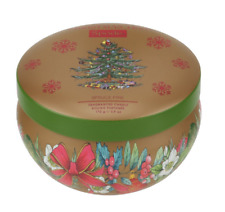 Spode Christmas Tree Spruce Pine Boutique Candle Tin by Wax Lyrical