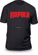 NEW Rapala Fishing Next Level T Shirt Stone Charcoal / Red Logo M RNLT9035M