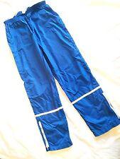 Vtg Bill Rodgers Boston Mass Mens Runner Pants Blue Exercise Bottoms Nylon Usa
