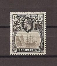 """ST HELENA 1922 SG 97B """"Torn Flag"""" Fine Mint Cat £275"""