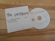 CD POP Cardigans-for what it 's Worth (1) canzone PROMO MOTORE