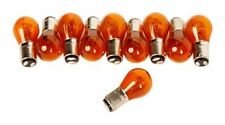 1157 AMBER STOCK TAIL LIGHT REAR BRAKE STOP TURN SIGNAL LAMPS BULBS 1157NA x10