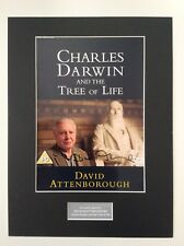 DAVID ATTENBOROUGH HAND SIGNED AUTOGRAPH 16x12 PHOTO DISPLAY MOUNT WILDLIFE  COA
