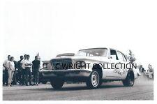 """1960s Drag Racing-""""MAMA'S MINK""""-1961 Plymouth Valiant-Fontana DRAG CITY"""