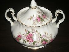 Royal Albert Lavender Rose sugar bowl with lid  pre owned