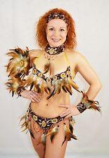 BRAZILIAN AFRO carnival SAMBA CABARET dance  COSTUME bikini/SHOWGIRL