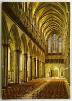 Salisbury Cathedral The Nave Postcard (P265)