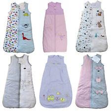 Baby Girl Boy Sleeping Bags 0.5 - 2.5 Tog Newborn - 3 Years Fairies Trains