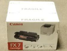 Canon FX7 Black Toner Cartridge 7621A001AA Genuine New Seal Damaged Box Lot Of 2