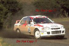 Armin Schwarz Mitsubishi Lancer Evo II Nueva Zelanda Rally 1994 fotografía 4