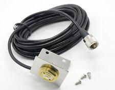 NMO Bracket L Shape Fender Mount W/ M PL-259 UHF Connector RG-58U 5 Meter Cable