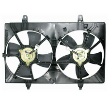 03 04 05 06 07 Murano 3.5L Dual Radiator AC Condenser Cooling Fan Motor Assembly