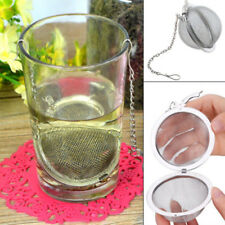 Infuser Strainer Mesh Tea Filter Spoon Locking Spice Ball Stainless Steel UK