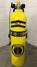 Vintage Aqua-Lung Mk 1 J Valve Aluminum 80 Cylinder