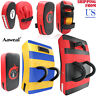 Kick Shield MMA Boxing Focus Pads Arm Punching Training Sparring Black & Red
