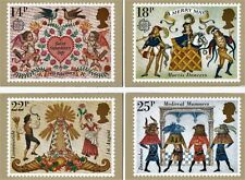 Royal Mail Stamp Postcards PHQ 49 Folklore 1981 Complete