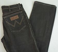 Wrangler Texas Stretch Herren Men Jeans Hose Regular W30 L34 Dark Braun B141