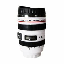 Camera Lens Cups Coffee Water Mugs Photography Thermos Stainless Steel Insulated