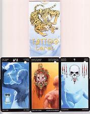Tattoo Tarot – Neuware Karten in Folie - rar