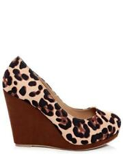 Animal Print Court High (3 to 4 1/4) Heel Height Heels for Women