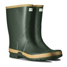 Hunter Gardener Field Tall Green Wellington Rubber Boots  Mens Size 12 Farming