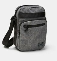 UNDER ARMOUR CROSS BODY MESSENGER POUCH CHARCOAL SLING SIDE BAGS