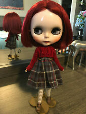 Cangaway Grunge Neo Blythe Custom Dress Designer Red