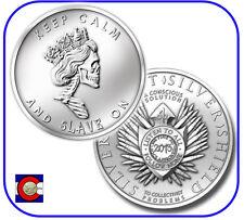2013 SBSS Slave Queen 1 oz. Silver Round/Coin in airtite