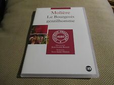 """DVD NEUF """"LE BOURGEOIS GENTILHOMME - MOLIERE"""" Martine CHEVALLIER / theatre"""