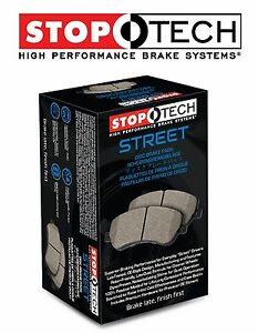 Cayenne Touareg Q7 Front Left & Right Street Performance Brake Pads Set Stoptech