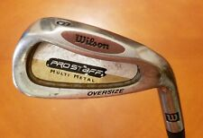 Wilson Pro Staff Oversize RH Multi Metal Mens 6 - Iron