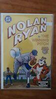 Nolan Ryan Winning Pitch Tony's Sports Comics DC High Grade Comic Book RM12-127