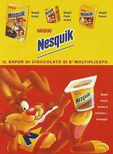 X7300 Nesquik Cereali - Nestlè - Pubblicità 1994 - Advertising