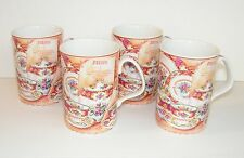 "ROYAL ALBERT Lady Carlyle Fine China ~ 4"" Cup, Mug ~ ""Afternoon Tea"" ~ Lot of 4"