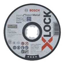 Bosch X-LOCK Trennscheibe 125x1x22,23 mm for Inox and Metal für Winkelschleifer