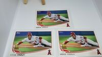 Lot of 3 Mike Trout 2013 Topps #27 Rookie Cup