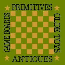 """* PRIMITIVE STENCIL ITEM #1763 I ~10""""x10""""~ Primitives ~ Game Board~"""