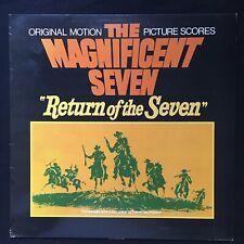 MAGNIFICENT SEVEN / RETURN Original SOUNDTRACK LIBERTY UK Press VINYL LP EX