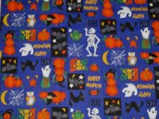 "HALLOWEEN  ""HAPPY HOLLOWEEN""  FABRIC SOLD BY THE YARD"