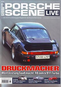 PORSCHE SCENE LIVE 40 Jahre 911 Turbo/959 Historie/356B Coupe´ 1961/ 05/06/2014